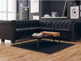 Vidaxl Chesterfield penkiavietė sofa 243614