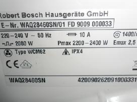 Skalbimo masina bosch waq28460
