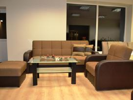 Kokybiška spyruoklinė sofa Nida