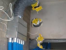 Vėdinimo sistemų montavimas, projektavimas