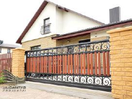 Kokybiškų kiemo vartų gamyba su garantijomis - nuotraukos Nr. 2
