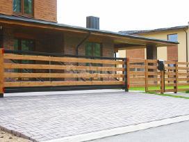 Kokybiškų kiemo vartų gamyba su garantijomis - nuotraukos Nr. 4