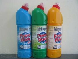Skalbikliai ir kita buitinė chemija Pigiau