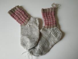 Naujos grynavilnės kojinės