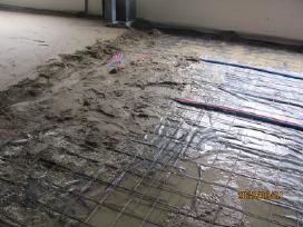Grindu betonavimas 2,8eu. Sienų tinkavimas