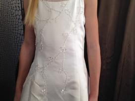 Balta ilga Komunijos - vestuvių suknelė mergaitei