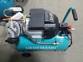 """Oro kompresoriai """"Herkmann"""" įvairiu galingumų"""