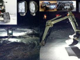 Led zibintai technikai.darbo sviestuvas 12v Akcija