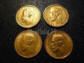 Perku kolekcijai auksines ir sidabro monetas - nuotraukos Nr. 2