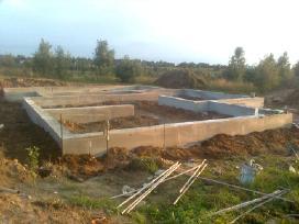 Pamatai,tvoros ir visi betonavimo darbai. Cfa. - nuotraukos Nr. 9