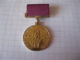 CCCP zenkliukas - medaliukas.