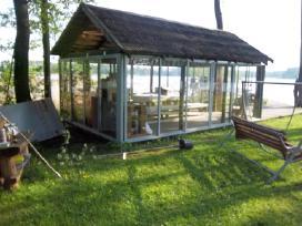Balkono, pavesines, verandos stiklinimas aliuminio