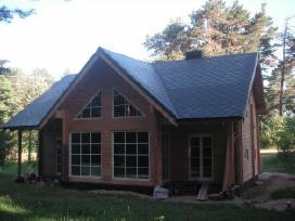 Stogų dengimas, karkasiniu namu statyba - nuotraukos Nr. 2