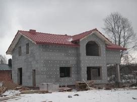 Stogų dengimas, karkasiniu namu statyba - nuotraukos Nr. 3