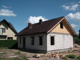 Stogų dengimas, karkasiniu namu statyba - nuotraukos Nr. 7