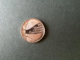 1 lito moneta (2011m) (europos krepšinio čempionat