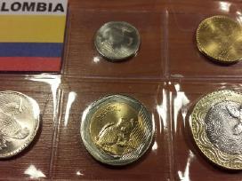 Kolumbijos monetų rinkinukas unc
