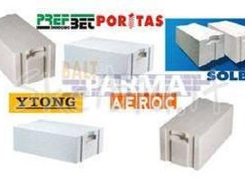 Akyto betono blokeliai Roclite, Ytong, Bauroc