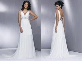 Nauja graikiško stiliaus vestuvinė suknelė
