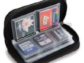 Atminties kortelių dėklas (sd, cf)