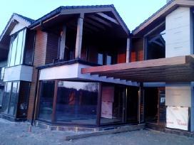Karkasiniai Namai -Stogai