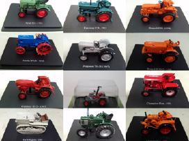 Traktorių modeliai 1/43