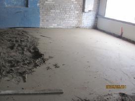 2.9 eu Grindų betonavimas