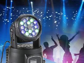 Judantis šviesos efektas - mini projektorius