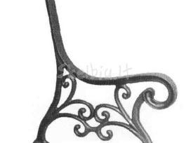 Suolo, stalo ketaus (špyžinės) kojos