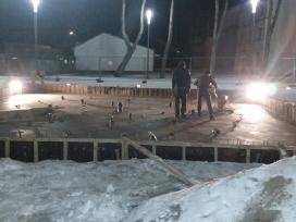 Grindu betonavimas greitai kokybiskai