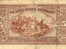 Perku Lietuvos tarpukario banknotus