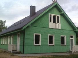 Karkasinis namas su Skardiniu stogu - nuotraukos Nr. 5