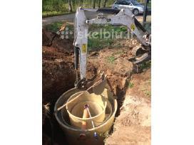 Vandentiekio,kanalizacijos,drenazo darbai