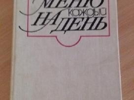 Knygą valgiaraštis kiekvienai dienai rusų kalba