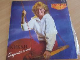 Plokštelę dainuoja Kikki vidurnakčio saulė
