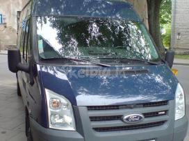Keleivinių combi krovininių mikroautobusų nuoma