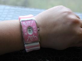 Rožinis linksmas laisvalaikio laikrodis