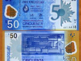 Urugvajus 50 Pesos 2017(2018)m. P-new Unc