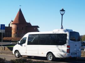 Mikroautobuso nuoma šventėms ir kelionėms Kaunas