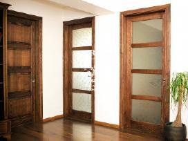 Durys, vidaus durys, medinės durys - nuotraukos Nr. 4