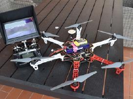 Dji - Walkera - dronas - orlaivis. Lt