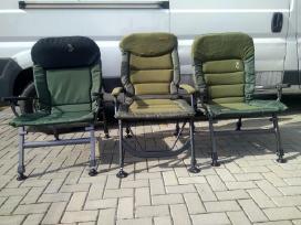 Kėdės-kreslai -gultai žvejybai-poilsiui