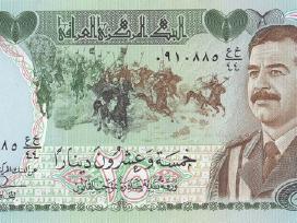 25 dinar 1986 Irakas Unc
