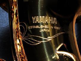 Saksofonas Yamaha Yas-475 Yas-32 Naujos Pagalveles