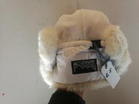 Natūralaus kailio kepurė Polar