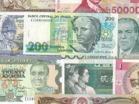Perku įvairius banknotus