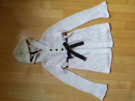 Megztinis su kapišonu H&m mergaitei 134-140 cm