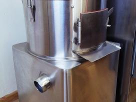 Bulvių valymo - skutimo įrenginys
