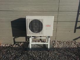 Oro kondicionieriai, Šilumos siurbliai, Montavimas