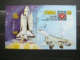 Kosmosas Lektuvai G. Bissau antsp. blk833